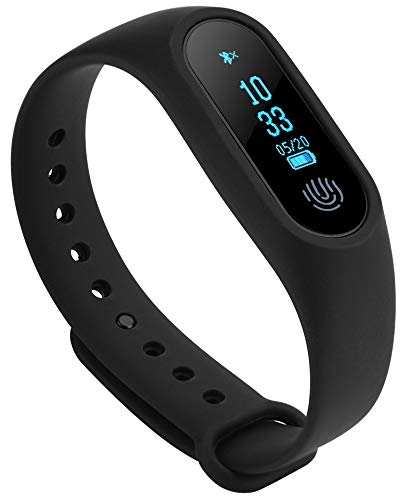 Rewy SM-2 Bluetooth V4.1 Smart-Band with Heart-Rate Analysis | Sports Activity Sensor...