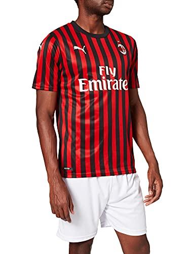 PUMA AC Milan 1899 Home Shirt Repl. Top1 Player Maillot, Hombre, Tango Red Black, XL