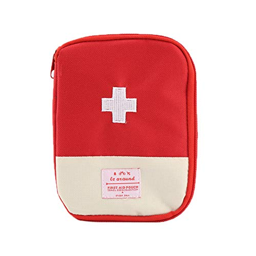 ZumZup Mini Erste-Hilfe-Kit Medical Emergency Kit Medizintasche für Reisen, Haus, Büro, Camping,Outdoors