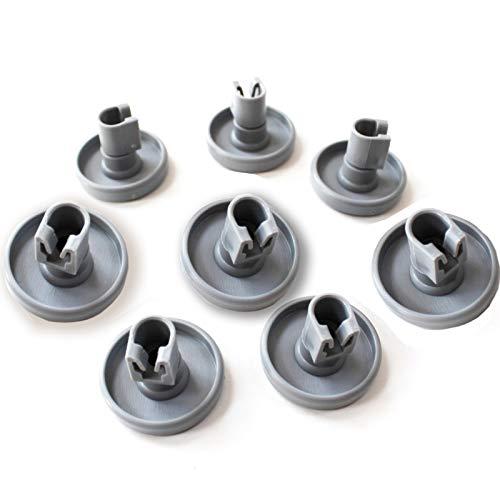 8 rodillos de rueda inferior para lavavajillas Ikea 40 mm