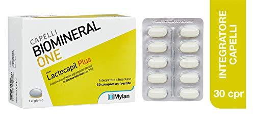 Biomineral One Con Lactocapil Plus Integratore Alimentare Anticaduta Capelli 30 Compresse