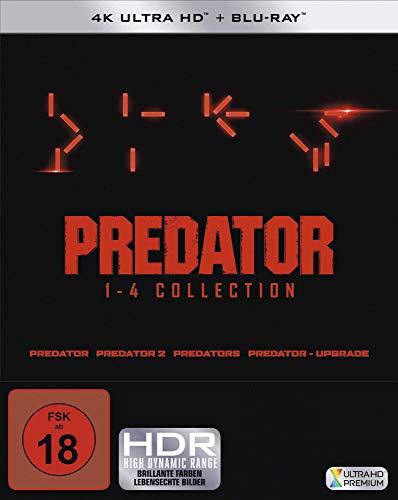 Predator 1-4 - Box (4K Ultra HD) (4 BR4K) (+ 4 BRs) [Blu-ray]