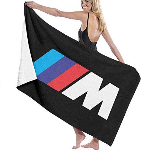 YRTGF B-M-W Auto M Sports Serie Weiche Handtücher Waschlappen Große Badetücher Handtuchdecke für Männer, Frauen, Kinder 50 Zoll x 31,5 Zoll Super Absorbent