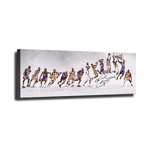 HD Leinwand gedruckt Basketball Star Bryant Poster Home Decor Gemälde Wandkunst Bilder Sport Poster
