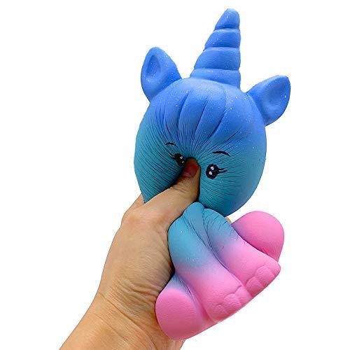 Squishie Einhorn Groß Galaxie Süß Kinder Spielzeug Antistress Squishy Galaxy Big Unicorn Kids Toy...