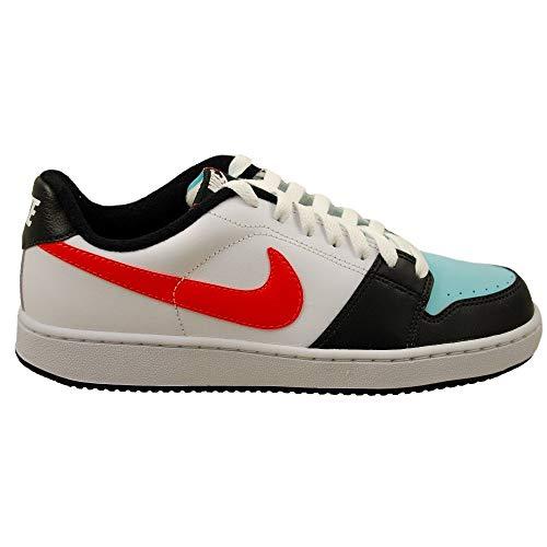 Nike - WMNS Backboard - 386110400 - Farbe: Weiß-Schwarz-Hellblau - Größe: 37.5 EU