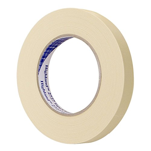 3M 6543 Highland 2727 2-Inch Automotive Refinish Masking Tape (3m 06543) 6 ROLLS