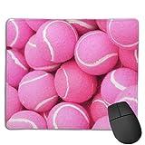 Alfombrilla de ratón para juegos, diseño de pelotas de tenis,...