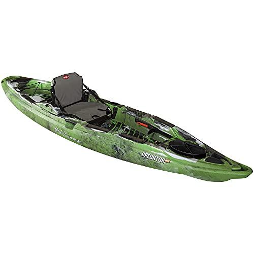 Old Town Canoes & Kayaks Predator MX Angler Fishing Kayak (Lime Camo, 12 Feet)
