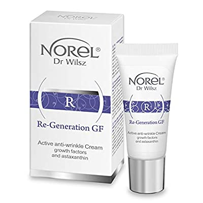 Norel Re-Generation GF Anti Wrinkle Cream Growth Factors and Astaxanthin 15ml from Norel