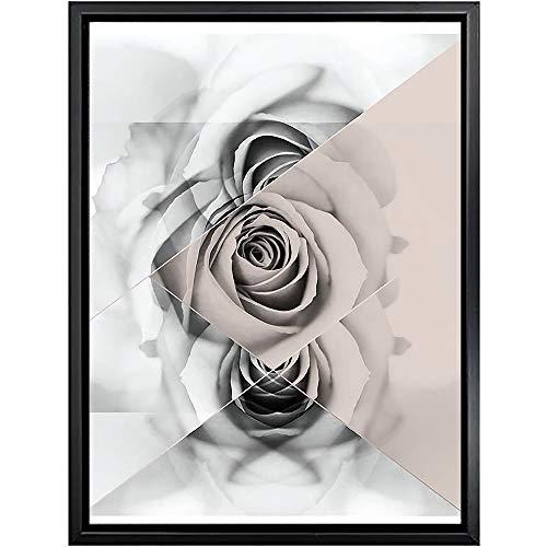 keletop 1000pcs_Wooden Adult Puzzles_Retro Flowers_Gifts para la Fiesta de cumpleaños de los niños_50x75cm