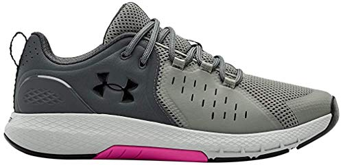 Under Armour Charged Commit 2.0 - Zapatillas deportivas para hombre, Verde (Gravity Green (301)/Gris Pitch), 45.5 EU