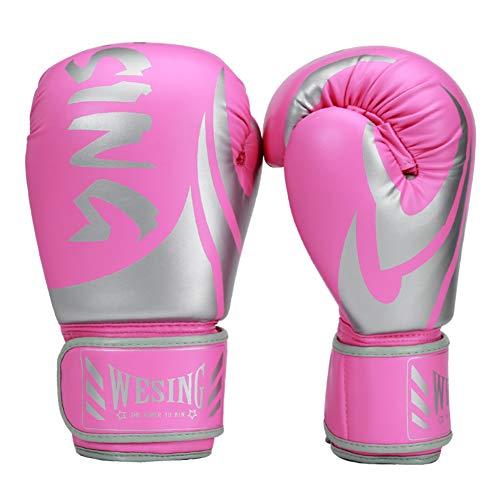 Wesing Guantes de boxeo para hombre, 14 onzas, guantes de boxeo de...