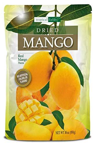 Tropical Fields Dried Real Mango (30 Oz), 30 oz