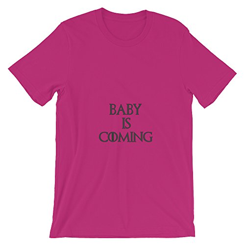 Funny Maternity Shirt Game of Thrones Baby is Coming Pregnancy Clothing T-Shirt