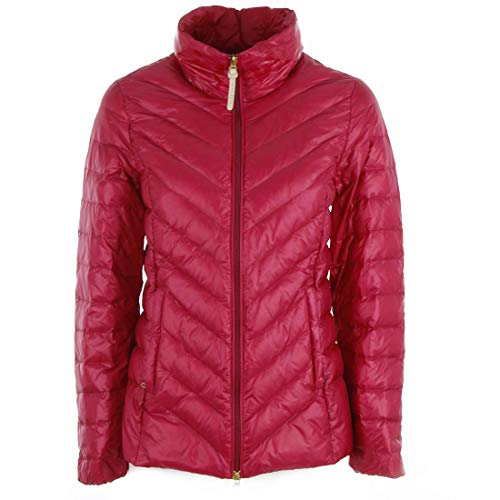 WOOLRICH Luxury Fashion Damen WWCPS2708UT1316100 Fuchsia Polyester Steppjacke | Jahreszeit Outlet