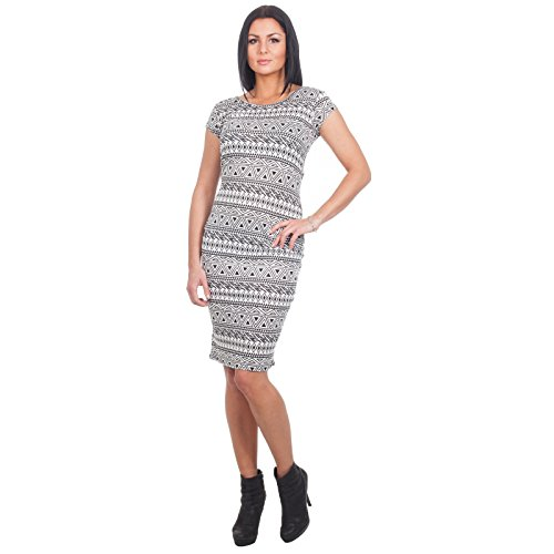 Loomiloo Aztec Azteken patroon strandjurk jurk dress etno alternatief mode meisjes dames must have patroon Azteekse Aztekisch figuurbenadrukkend Tribal Forver 21 Azteken KAM