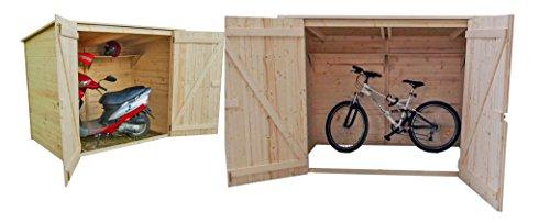 FORESTA - Casetta Porta Bici ED2012.01, Ed 2012.01,200X120Xh162Cm