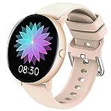 GAO-bo Smart Watch, 1.3 Full Touch Screen Smart Watch Frequenza cardiaca Bluetooth Pressione sanguigno Fitness Tracker smartwatch applicabile Persone Business, pubblico, Moda, Adulto
