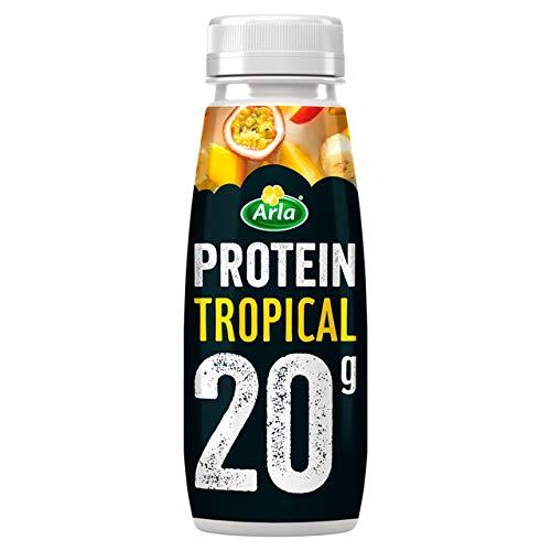 Arla Protein Tropical Milkshake 225ml (Pack of 8)