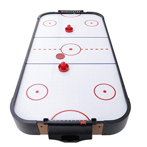 ZENY 40-in Tabletop Air Hockey Table for Kids & Adults,Electric Air Hockey Game with Powerful Air Blower with 2 Pucks 2 Pushers