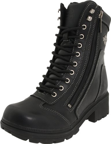 Harley-Davidson Women's Tessa Casual Boot ,Black,11 M