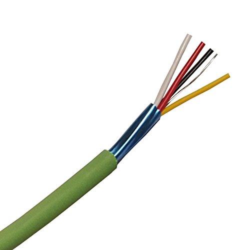 EIB Busleitung Kabel- EIB-Y(St) Y 2x2x0,8 mm² grün Datenleitung/Datenkabel Installationsbusleitung Telekommunikationskabel - 5/10/20/30/40/50/60/70/80/90m oder 100 Meter - von 5 Meter bis 100 Meter