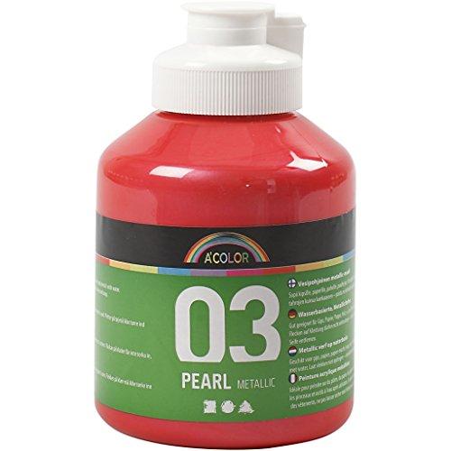 A-Color farba akrylowa, czerwona, 03 - metaliczna, 500 ml