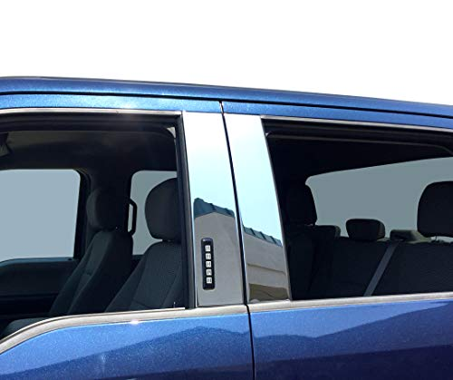 Tyger Auto Made in USA! Stainless Steel Chrome Pillar Post Trim Compatible with...