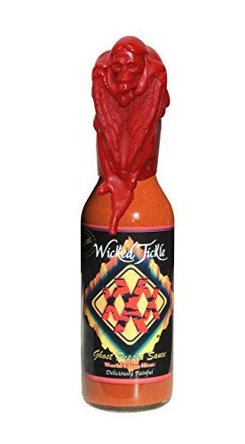 Ghost Pepper Hot Sauce Wicked Tickle XXX Chipotle Extra Hot World
