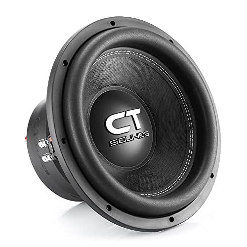 CT Sounds TROPO-XL-12-D4 2000 Watts Max 12 Inch Car Subwoofer Dual 4 Ohm