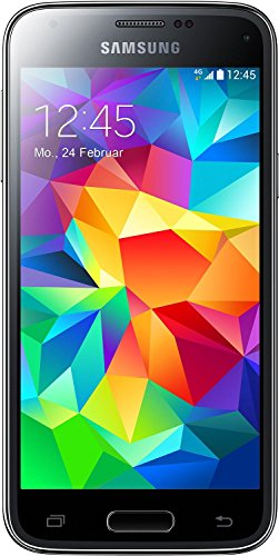 Galaxy S5 Mini Samsung Galaxy S5 Mini Smartphone (11,43 cm (4,5 Zoll) Touchscreen, 8 Megapixel-Kamera, 1,4-GHz-Quad-Core-Prozessor, Android 4.4) schwarz [EU-Version]