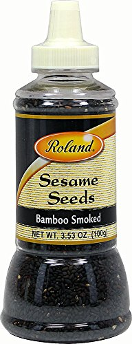 Flavored Sesame Seeds by Roland - Bamboo Smoked (3.5 ounce)