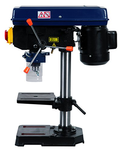 FERM TDM1025 Tischbohrmaschine 350W - Stabilität - 0-45 Grad -...