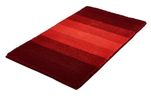 Kleine Wolke Badteppich Palace rot 70 x 120 cm