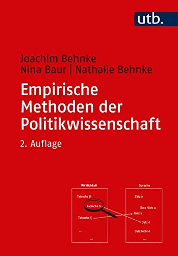 Empirische Methoden der Politikwissenschaft (Grundkurs Politikwissenschaft, Band 2695)
