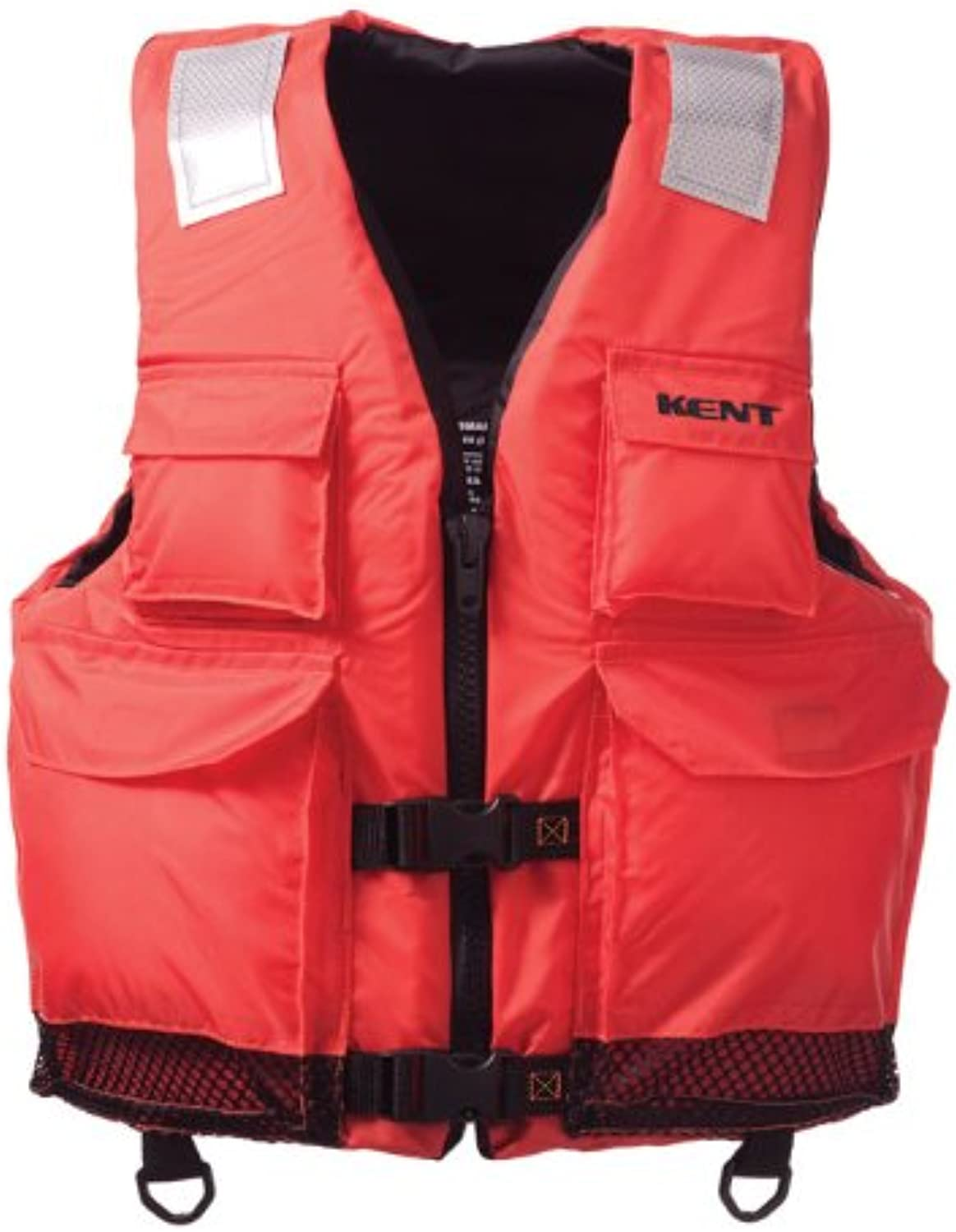 Absolute Outdoor Kent Elite Dual Size Commercial Life Vest  Persons Over 90Pounds