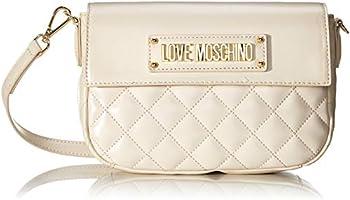 Love Moschino Damen Borsa Quilted Nappa Pu Kuriertasche, 16x23x6 Centimeters (W x H x L)