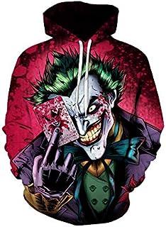 Creative clown Hoodies For Women Men fashion Streetwear Clothing Hooded Sweatshirt 3d Print Hoody casual Pullover mm