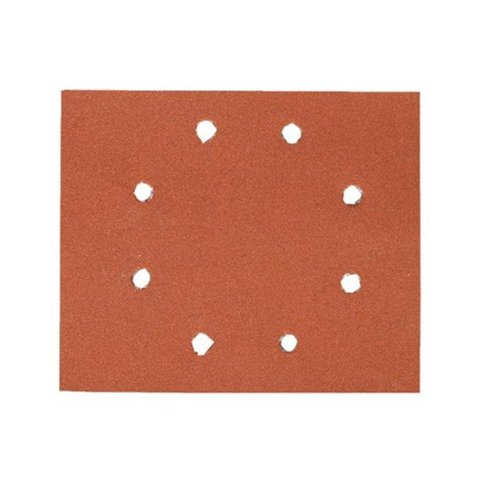 Dewalt Schleifpapier (Klettfix 115 x 115 mm, K60, gelocht (8 Loch ringförmig), Mehrzweck-Holz/Farbe - Trockenschliff) DT3021-QZ