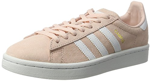 adidas Damen Campus Laufschuhe, Mehrfarbig (Icey Pink F17/ftwr White/Crystal White S16), 36 EU