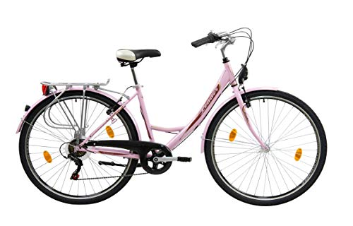 Leader Elegance Bici de Paseo, Women's, Rosado, 28''