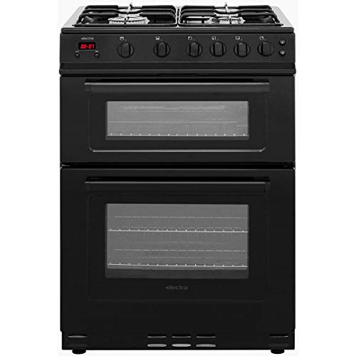 Electra Tg60B Freestanding Gas B Rated Cooker -Black