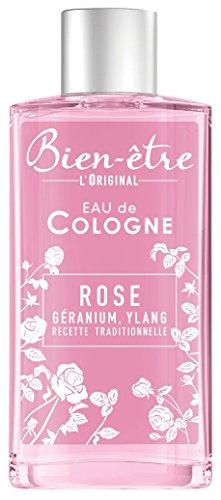 Bien-être - Eau de Cologn Rose au Parfum de Géranium / Ylang - 250 ml