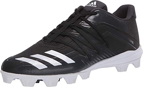 adidas Men's Afterburner 6 Grail MD Cleats Baseball Shoe, Black, 10.5