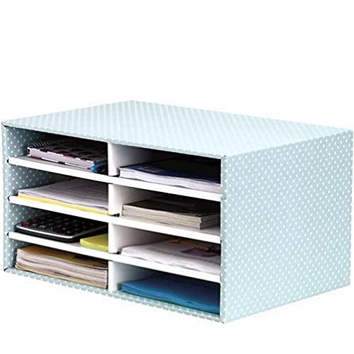 Bankers Box Sortierstation für den Schreibtisch, aus 100% recycelter Wellpappe, schneller Aufbau dank Fastfold, stabil stapelbar, Farbe: grün/weiß, 1 Stück