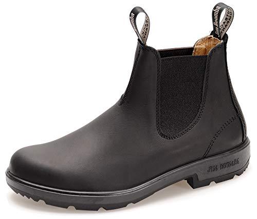 Jim Boomba Town & Country Offroad Chelsea Boots JBBK Unisex Stiefelette | Black | UK 10.0 / EU 44.0