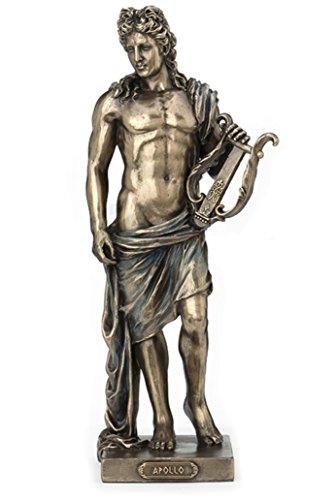 10' Statue Apollo Holding Lyre Greek Mythology Figurine Figure Sculpture