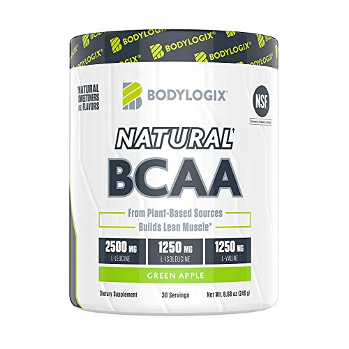 Bodylogix BCAA, Green Apple, 246 g