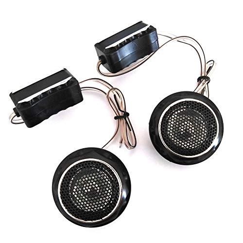 Par de altavoces Tweeter para coche, potencia de 140 W, altavoces estéreo y audio estéreo